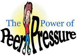 Peer pressure in high school essay